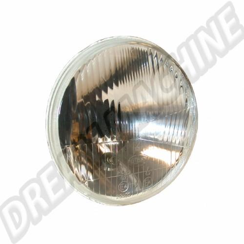 Optique H4 pour phare style US ou phare Buggy avec veilleuse 00-9311-V Sur www.dream-machine.fr